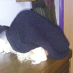NWOT large head wrap tossle caps. never used.